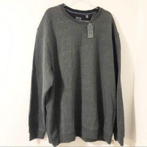 Arrow Big & Tall Sueded Fleece Pullover Sweatshirt
